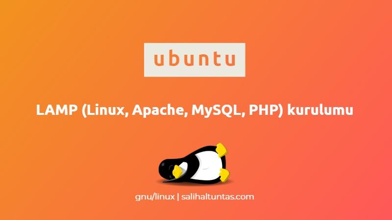 ubuntu lamp kurulumu