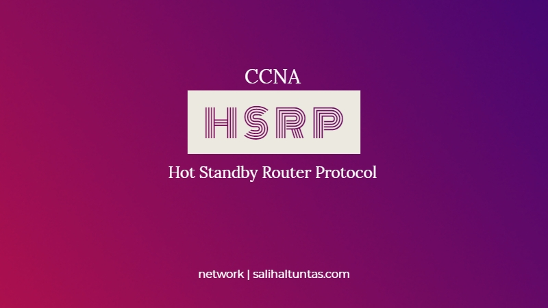 hsrp hot standby router protocol