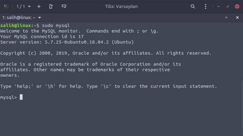 ubuntu mysql config