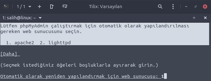 ubuntu phpmaydmin install