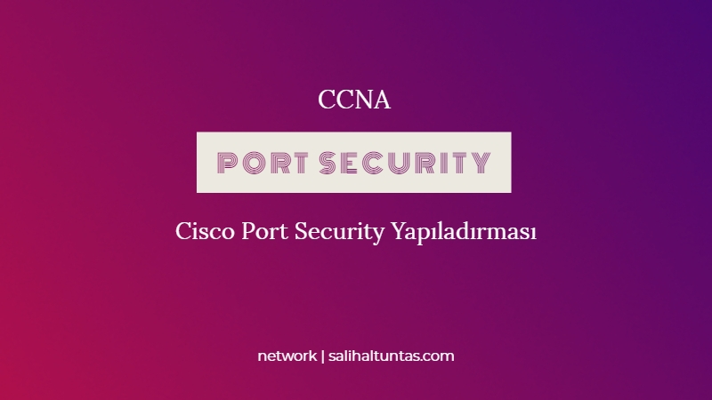 cisco port security