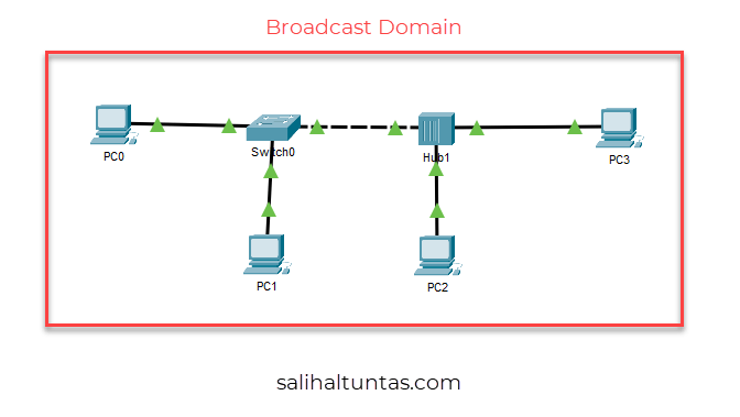 switch broadcast domain
