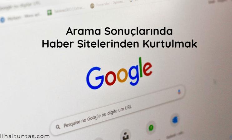Google arama sonuçlarında site engelleme