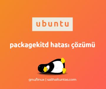 ubuntu packagekitd hatası