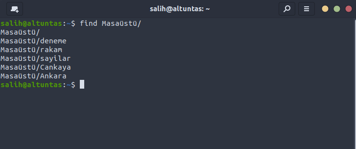 linux find komutu