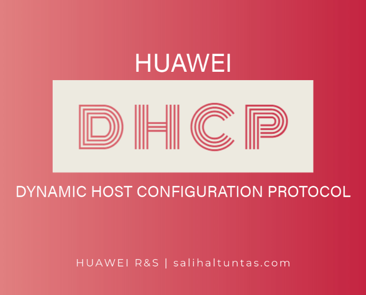 huawei dhcp configuration