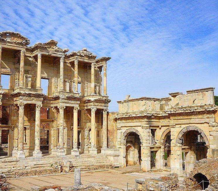 celsus library- ephesus ancient city